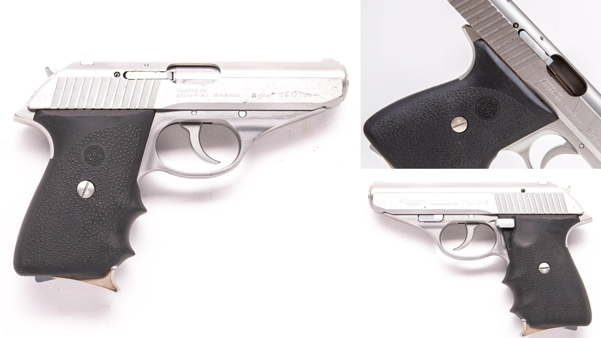 This 1992-date coded West German proofed and marked Sig P230 is the company's .380ACP chambered answer to the Walther PPK