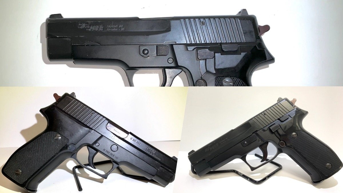 This early West German 9mm Sig Sauer P226 in our Outlet has Virginia import marks