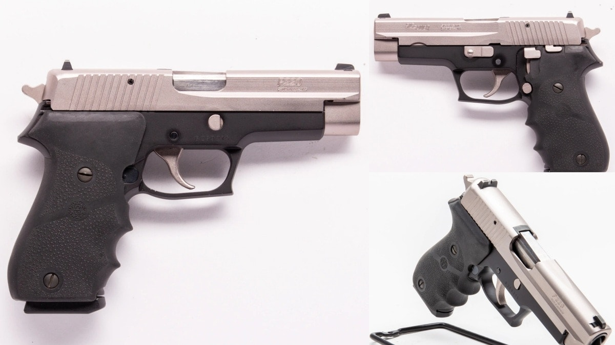 Two Tone P220 1999 Sig West German
