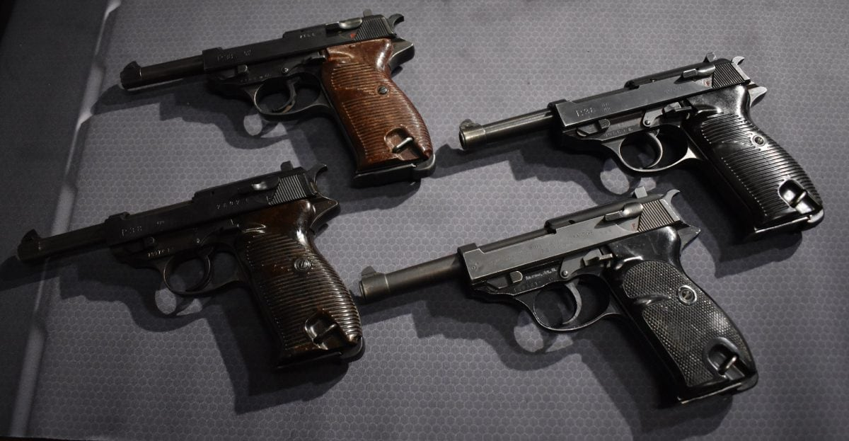 Walther P38 P1 variants