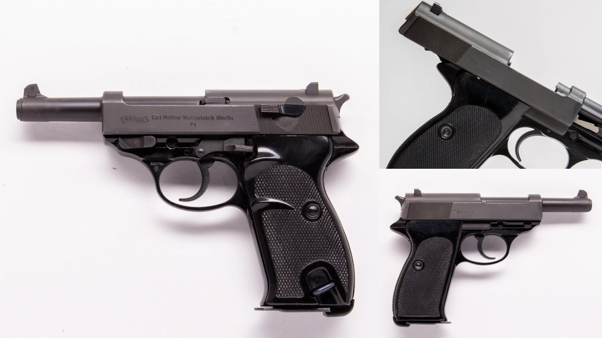 Walther P4 1976 date code