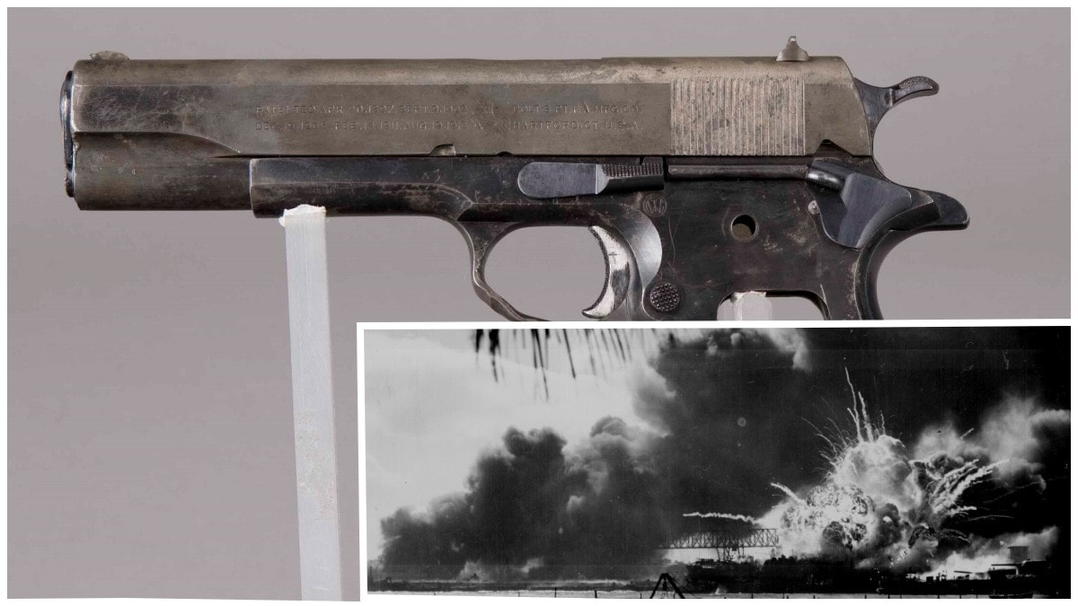 Witness to Infamy: Pearl Harbor Veteran M1911A1