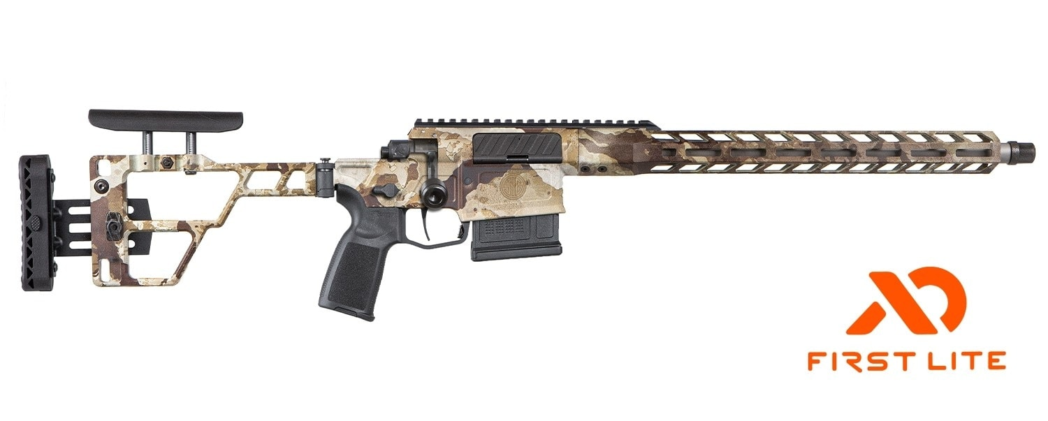The rifle also comes in First Lite camo (Photo: Sig Sauer)