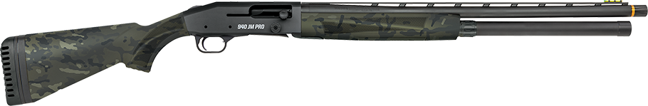 For those who want a more field-ready gun, there is a second version of the 940 with a MultiCam stock and forend while the receiver and controls carry a black anodized-finish. Of note, the HIVIZ TriComp sight system on both models haves nine user-interchangeable LitePipes, in three colors and three shapes.