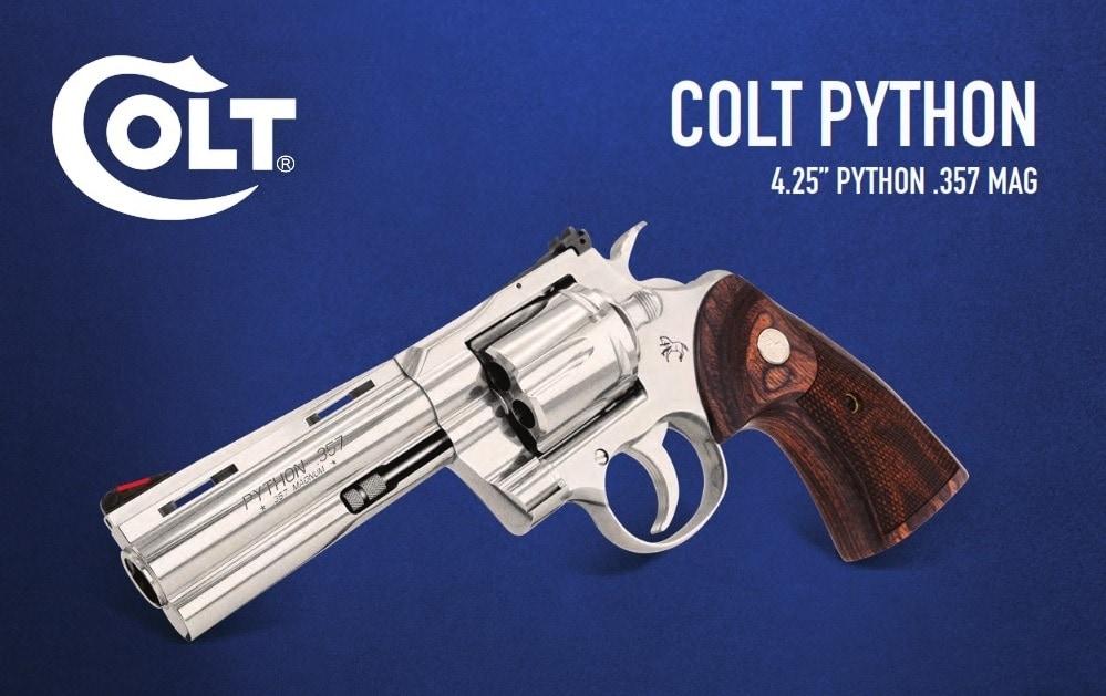 Colt Python 2020 4inch sheet