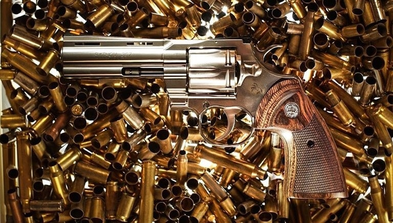 The rebooted classic DA revolver is chambered in .357 Magnum and also accommodates 38 Special cartridges. (Photo: Colt)