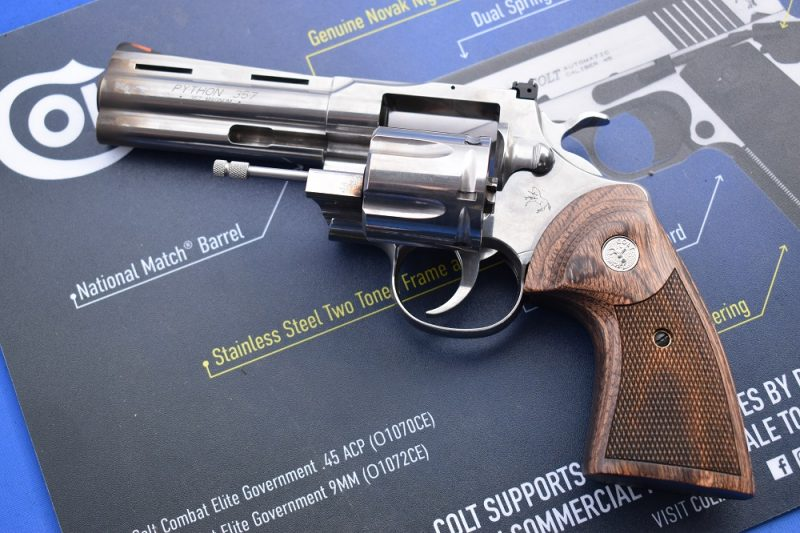 Colt Python range