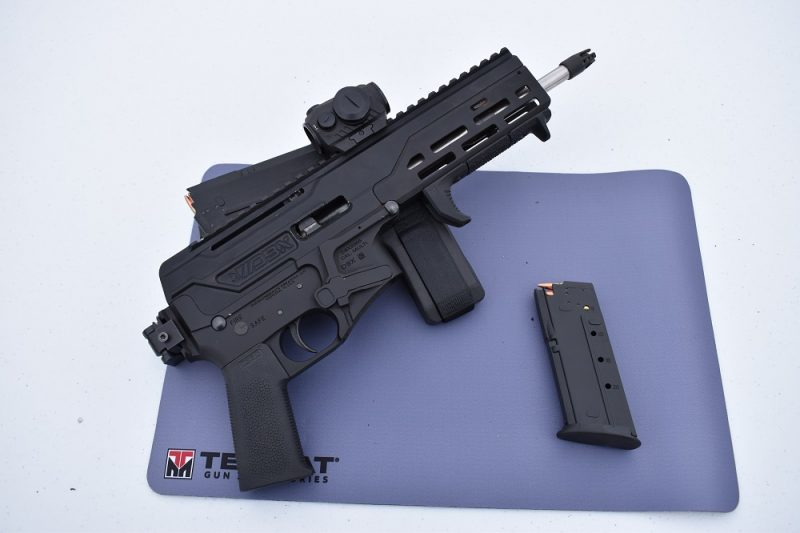 Diamondback has a new 5.7x28mm pistol, the folding braced DBX
