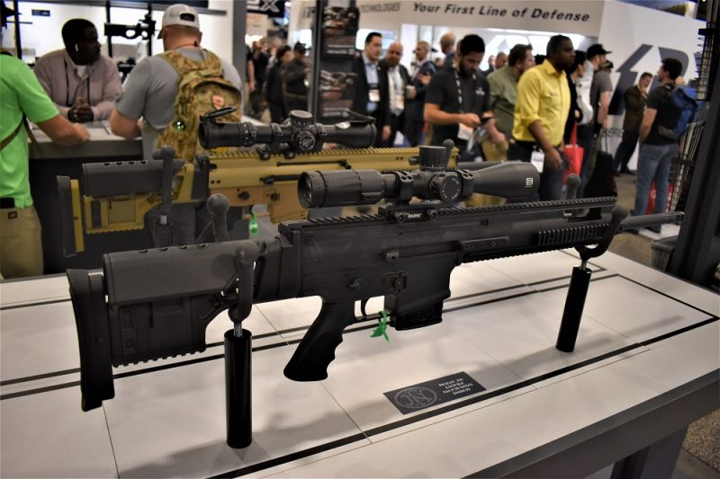 Available this year on the commercial market, the FN SCAR 20S in 6.5CM will be offered in both FDE and black.