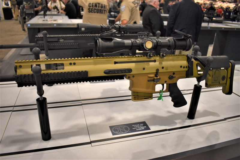 Both the FN SCAR 20S in 7.62 and 6.5 Creedmoor accept the 10- or 20-round FN SCAR 17S mags.