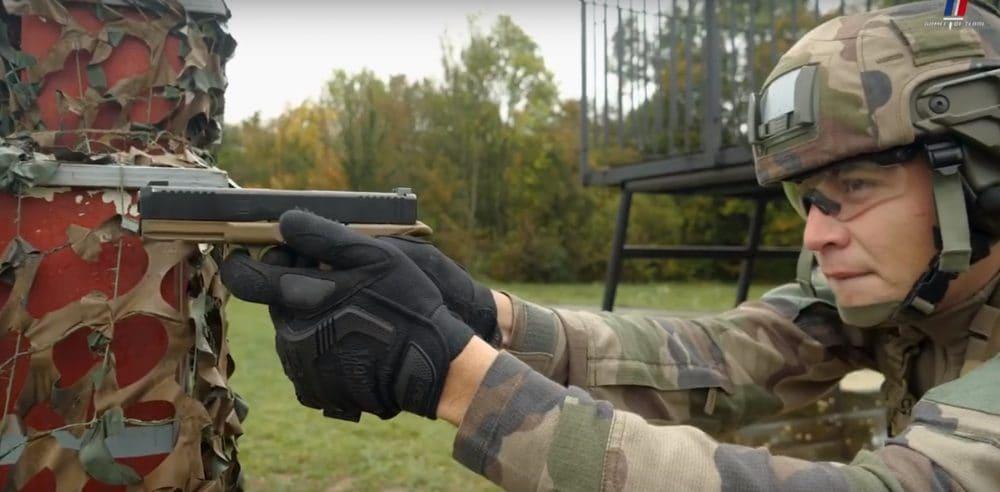 French army Glock G17 gen5