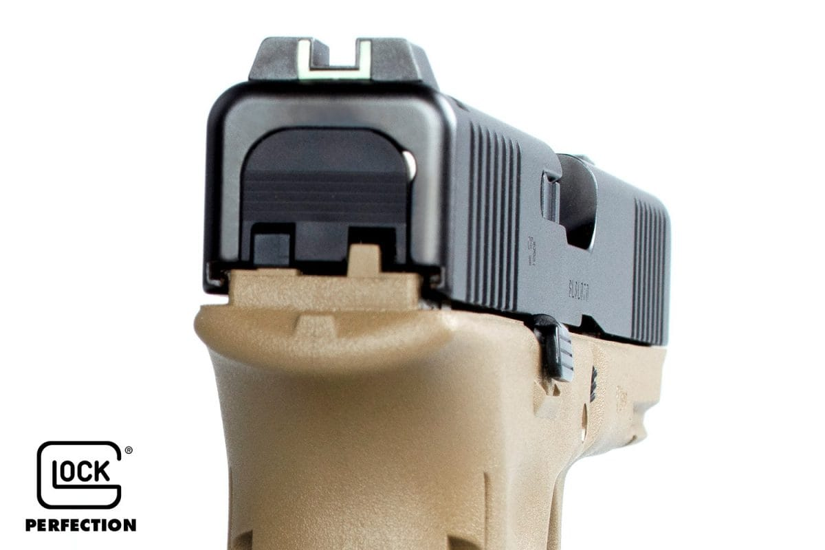 GLOCK and Armurerie de La Bourse French G17 sights