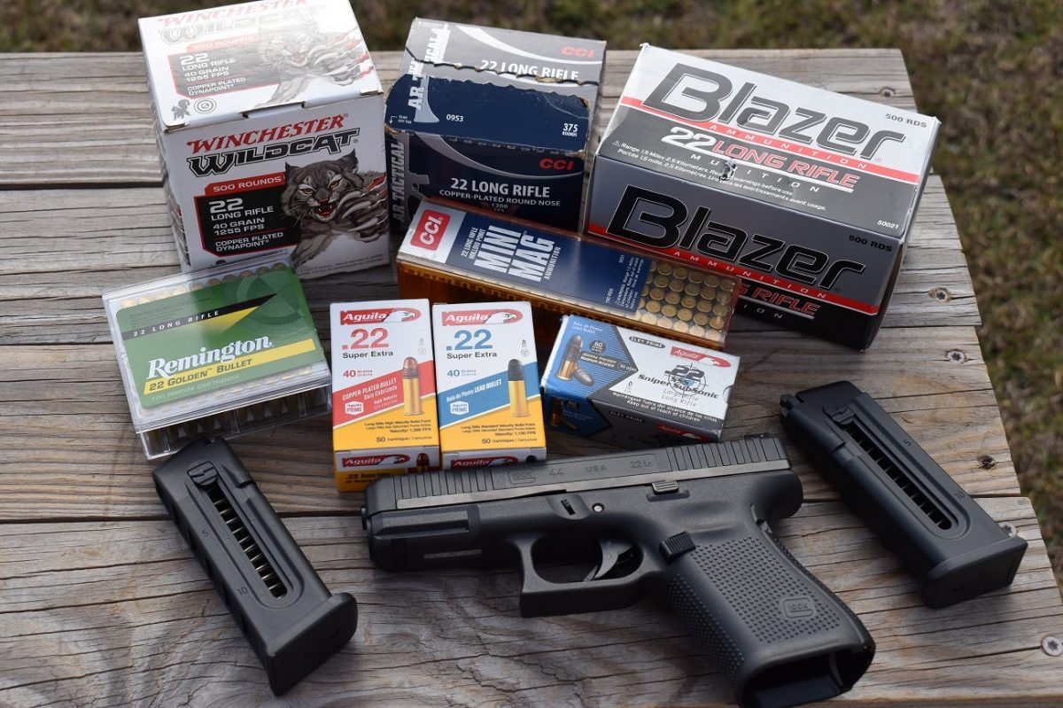 Glock G44 ammo