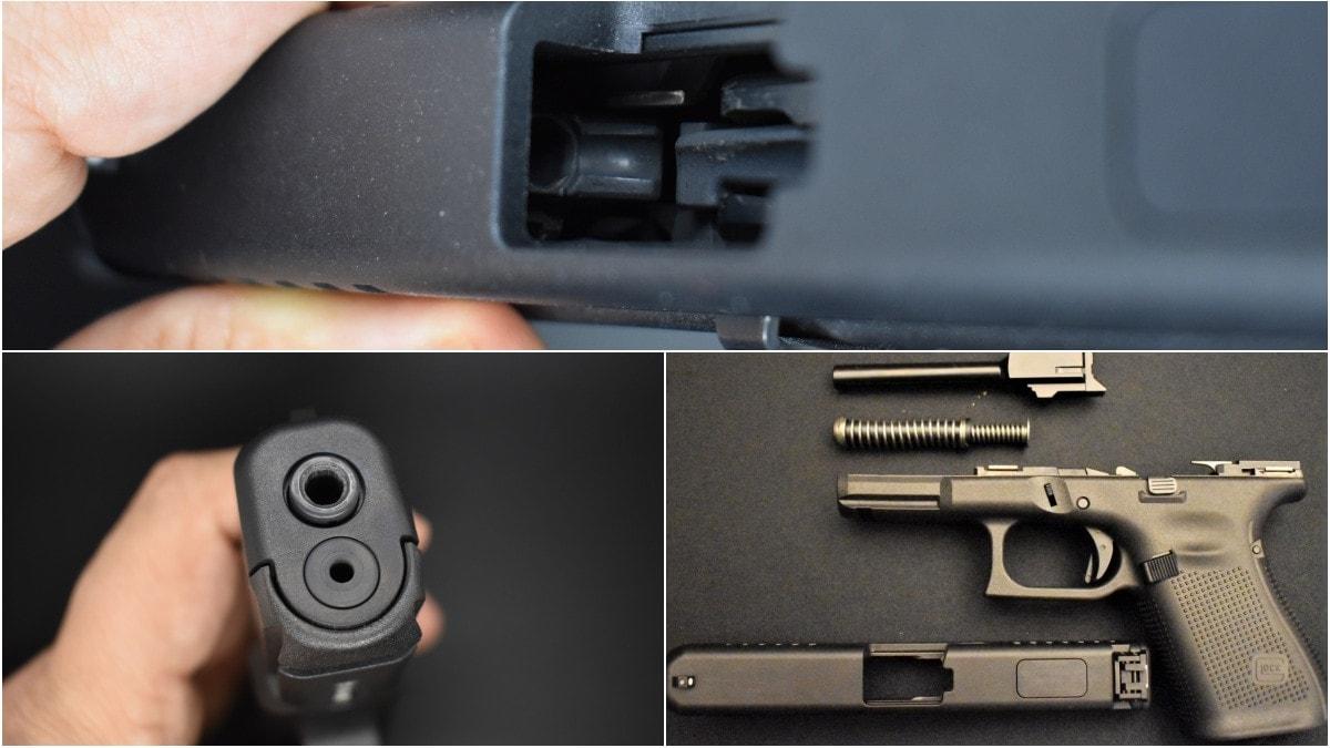 Glock G44 22LR layout