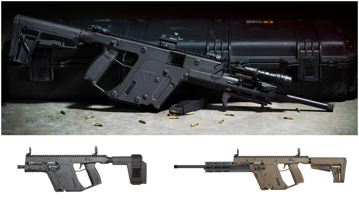 KRISS USA Announces New .22LR Vector Line Up