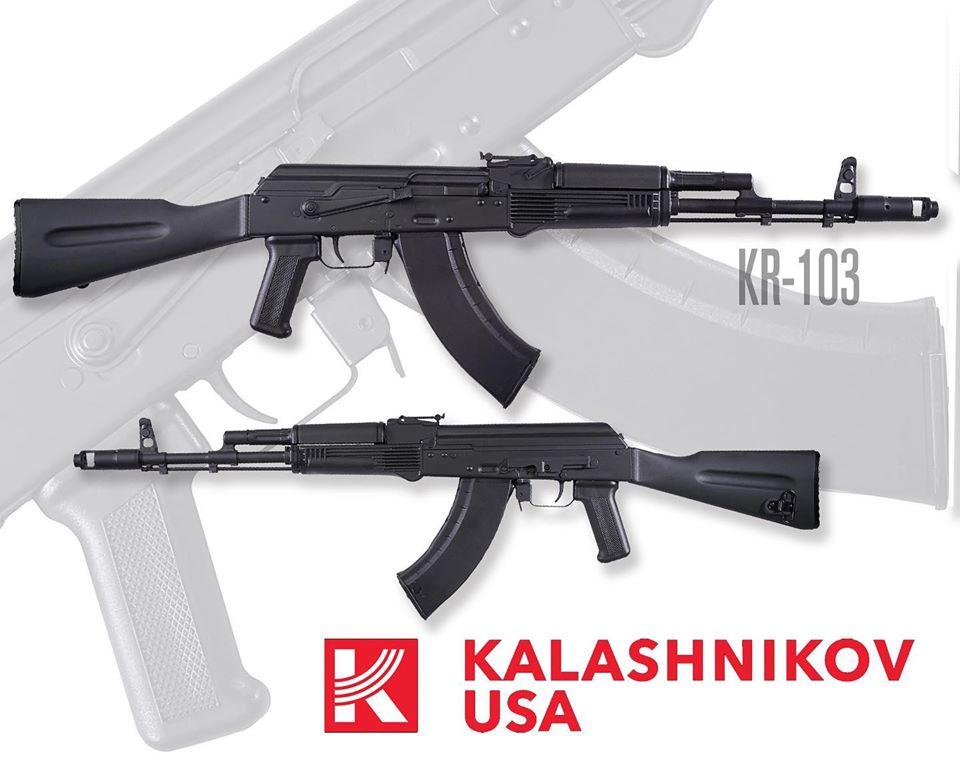 Kalashnikov USA Promises New KR-103 AK