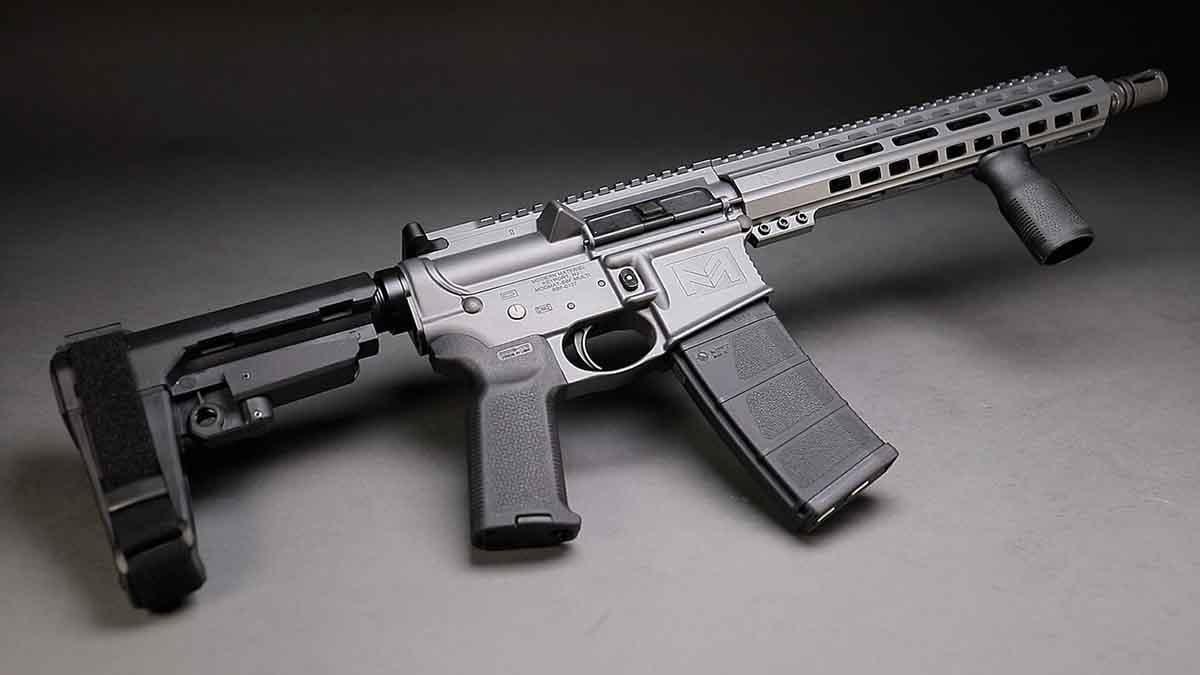 modern materiel ar style rifle