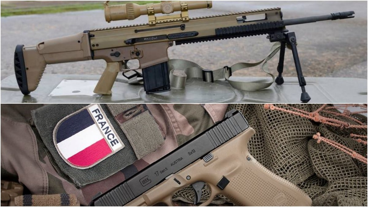 More on the New French Army Glocks, FN...