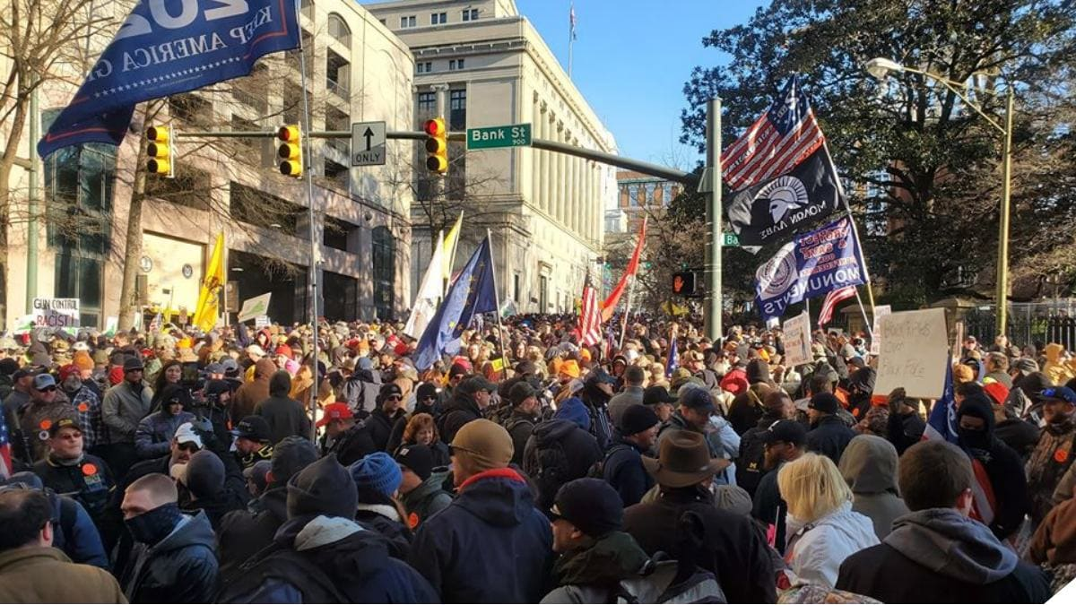 More than 22,000 Attend Peaceful 2A Rally in Richmond Virginia c