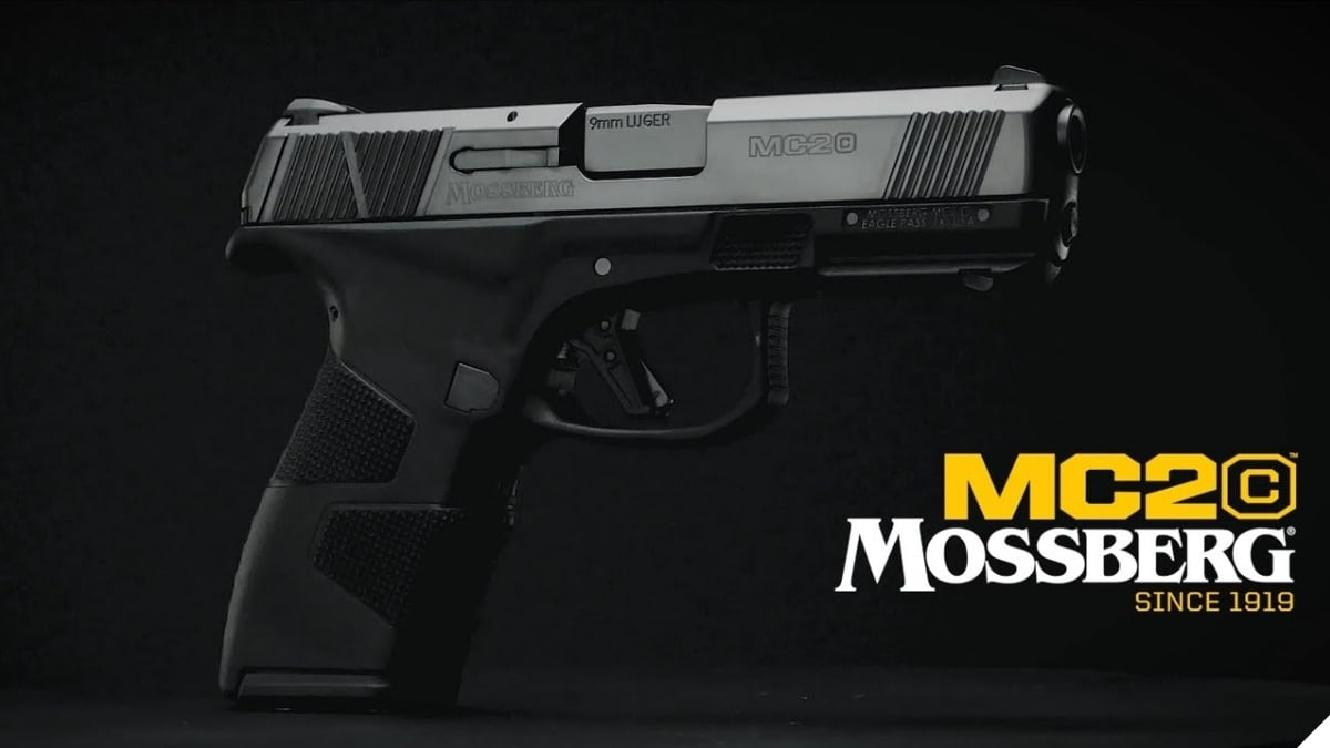 New Mossberg MC2c 13+1 9mm Pistols for 2020