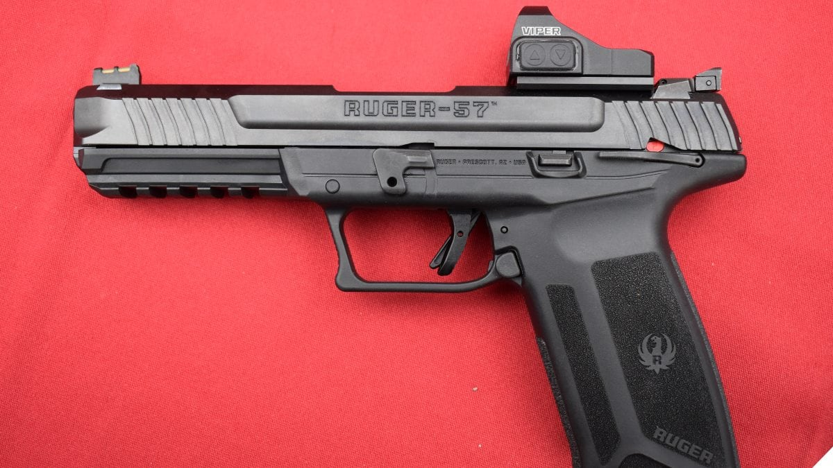 New Ruger 57 5.7x28mm Pistol a Hit at SHOT Show