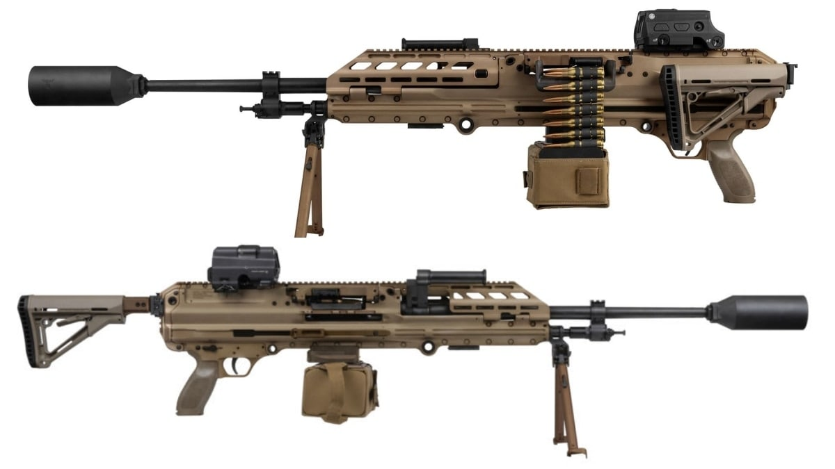 USSOCOM Takes Delivery of new Sig Sauer MG 338 Machine Gun