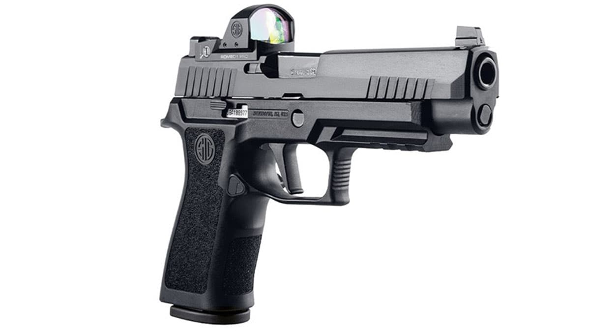 Sig Sauer Debuts Red Dot Ready P320 RXP...