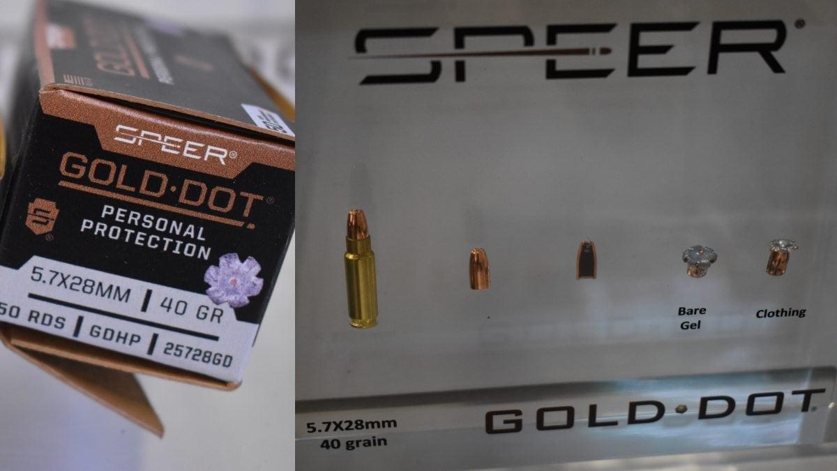 Speer Gold dot 5.7