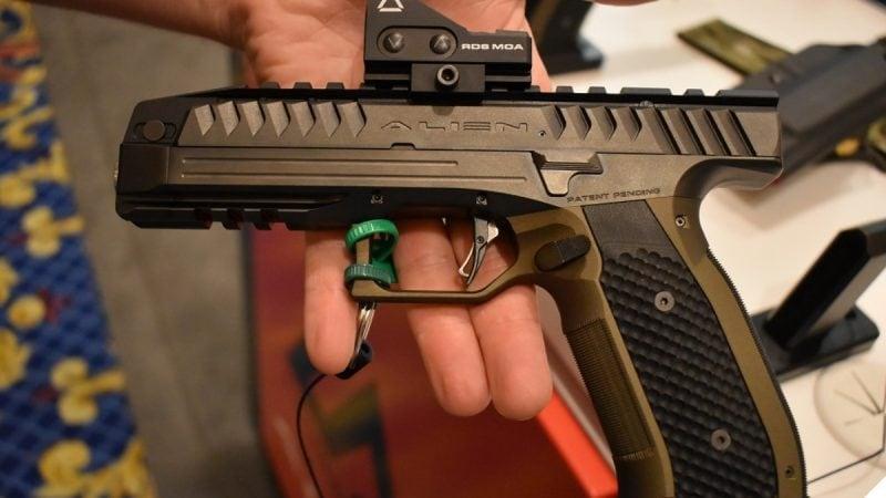 The Alien Has Landed Czech Laugo Arms Competition Pistol Enters U.S. Market