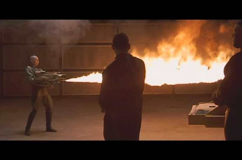 Zorg flamethrower