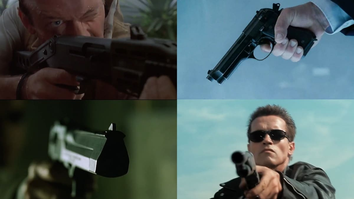 Guns of 90's Sci-Fi Movies