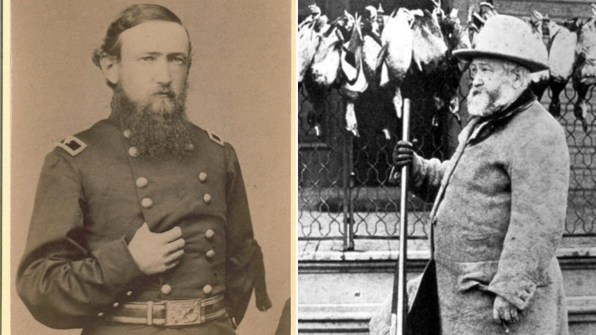 Besides adding six states to the Union, Benjamin Harrison fought in the Union Army during the Civil War-- as did seven other Presidents-- and was an avid hunter. His great-grandfather signed the Declaration of Independence.