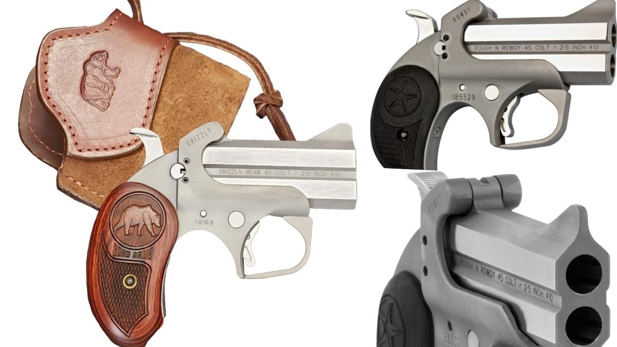 Bond Arms Grows Rough Series of Double-Barrel Handguns