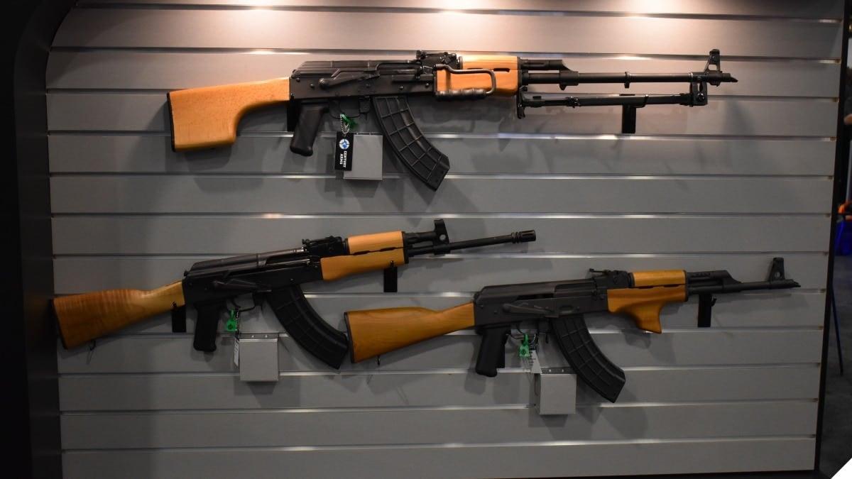 Century Arms rifles AK VSKA