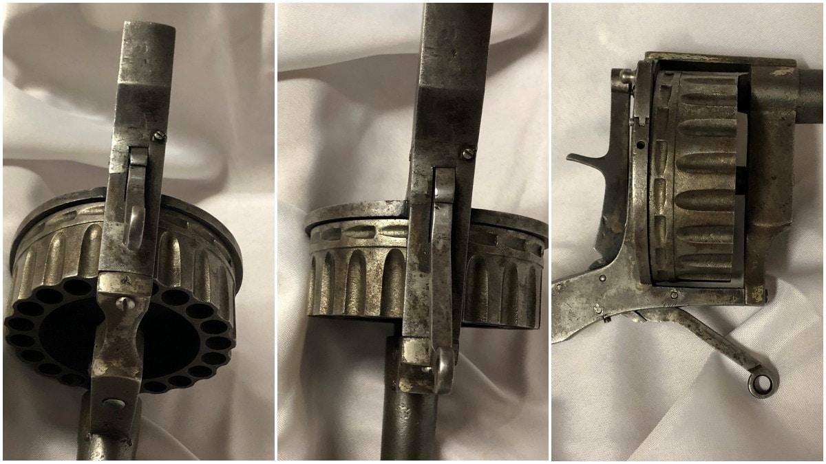 Trench revolver