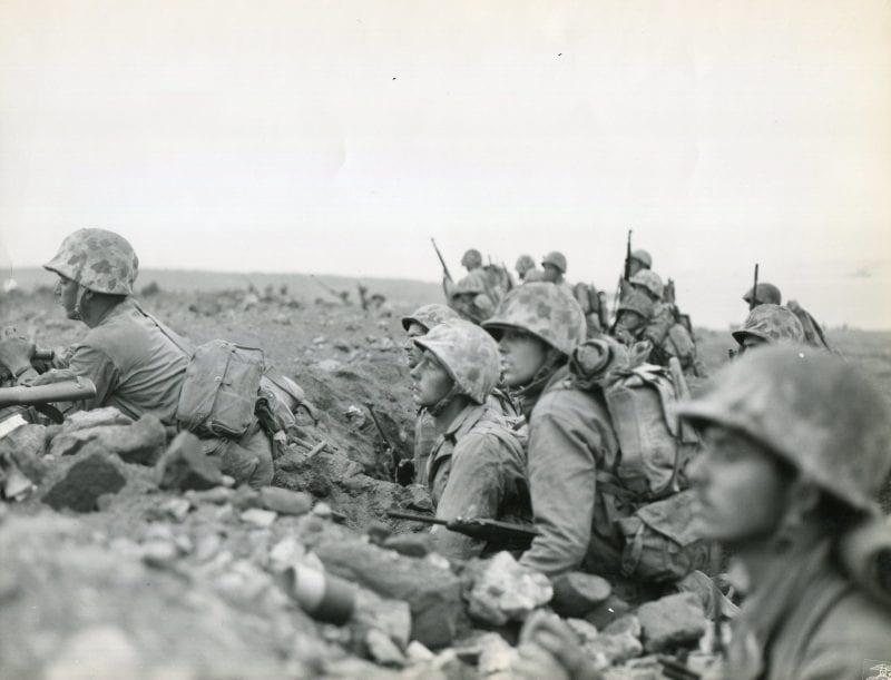 Marines ready to strike