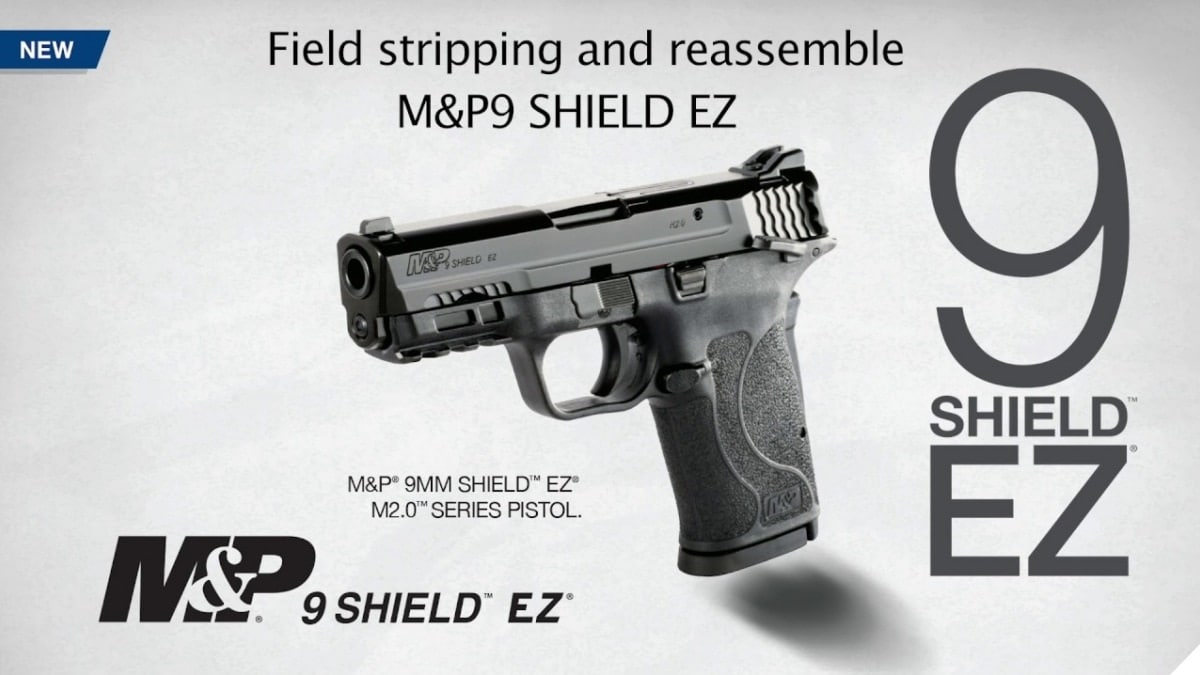 How to Disassemble the New S&W M&P9 EZ Shield