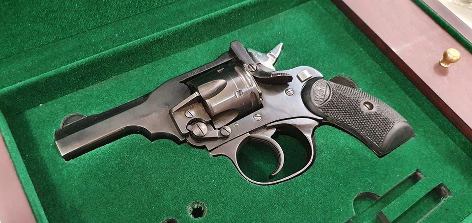 Indian Webley MKIV Pocket Revolver