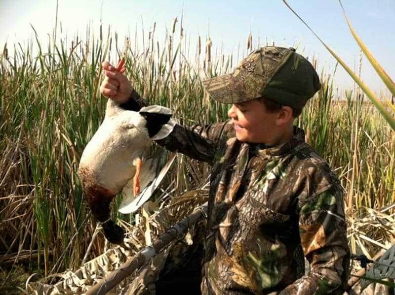 Youth Waterfowl Hunting