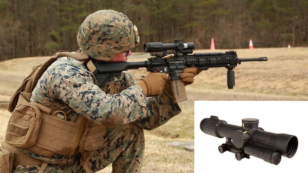 Marine Corps Taps Trijicon VCOG as USMC Squad Common Optic