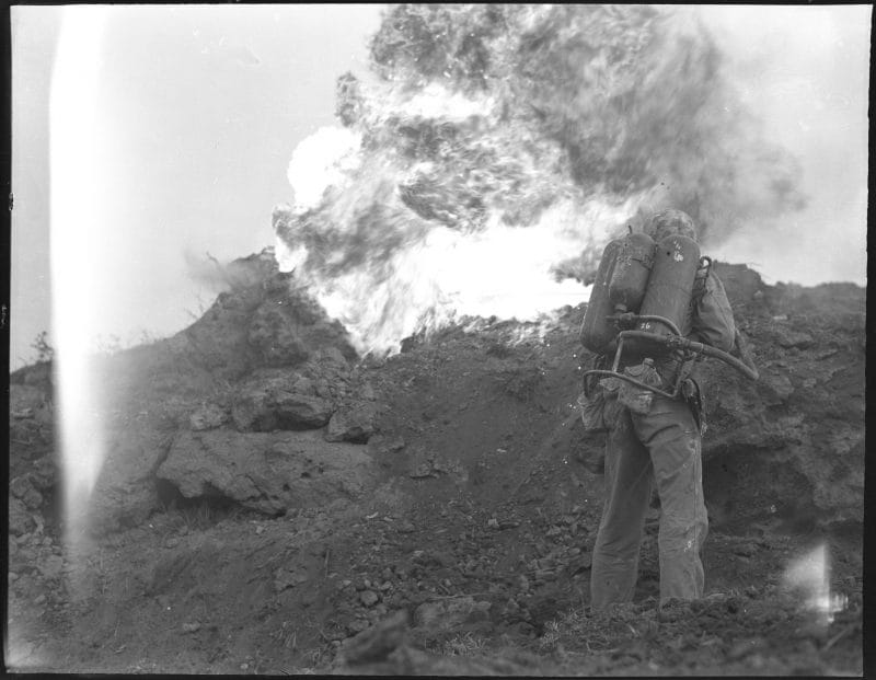 Marine flamethrower