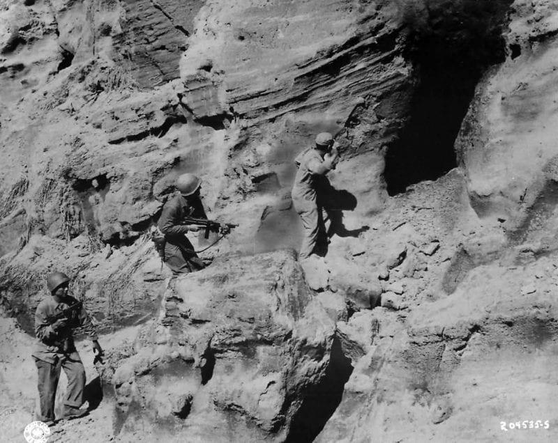 Army Troops on Iwo Jima