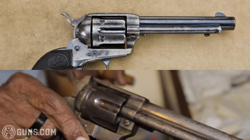 Richard Overton's first generation Colt Single Action in .32-20.
