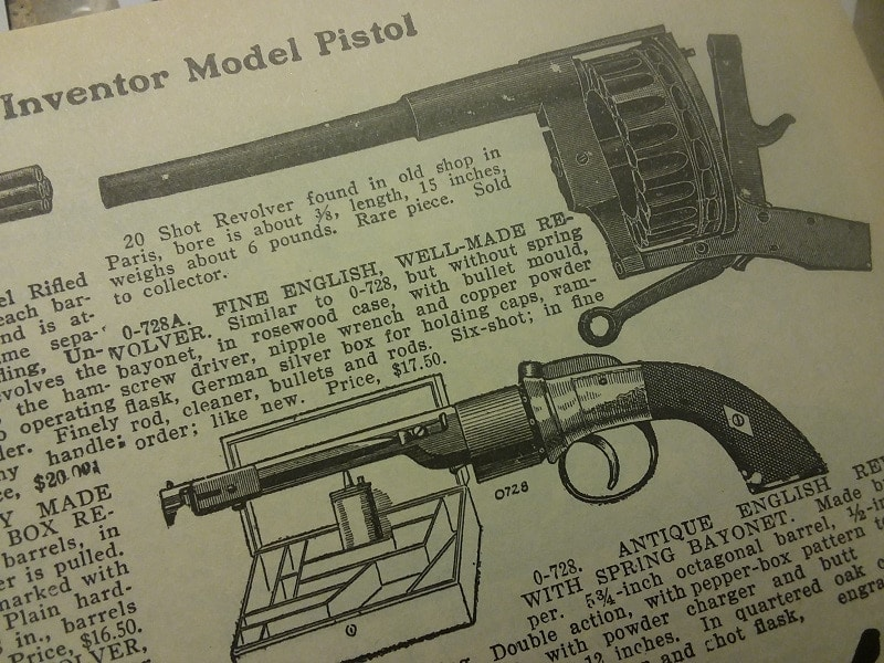 Rare 9-Pound, 20-Shot 'Trench Revolver' Surfaces a (2)