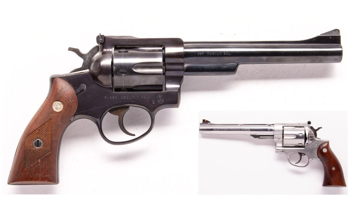 Ruger Security Six Redhawk