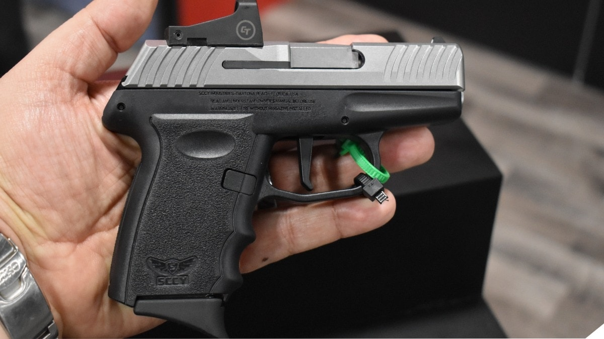 SCCY Shows off Sub-$400 Optics-Equipped Pistols