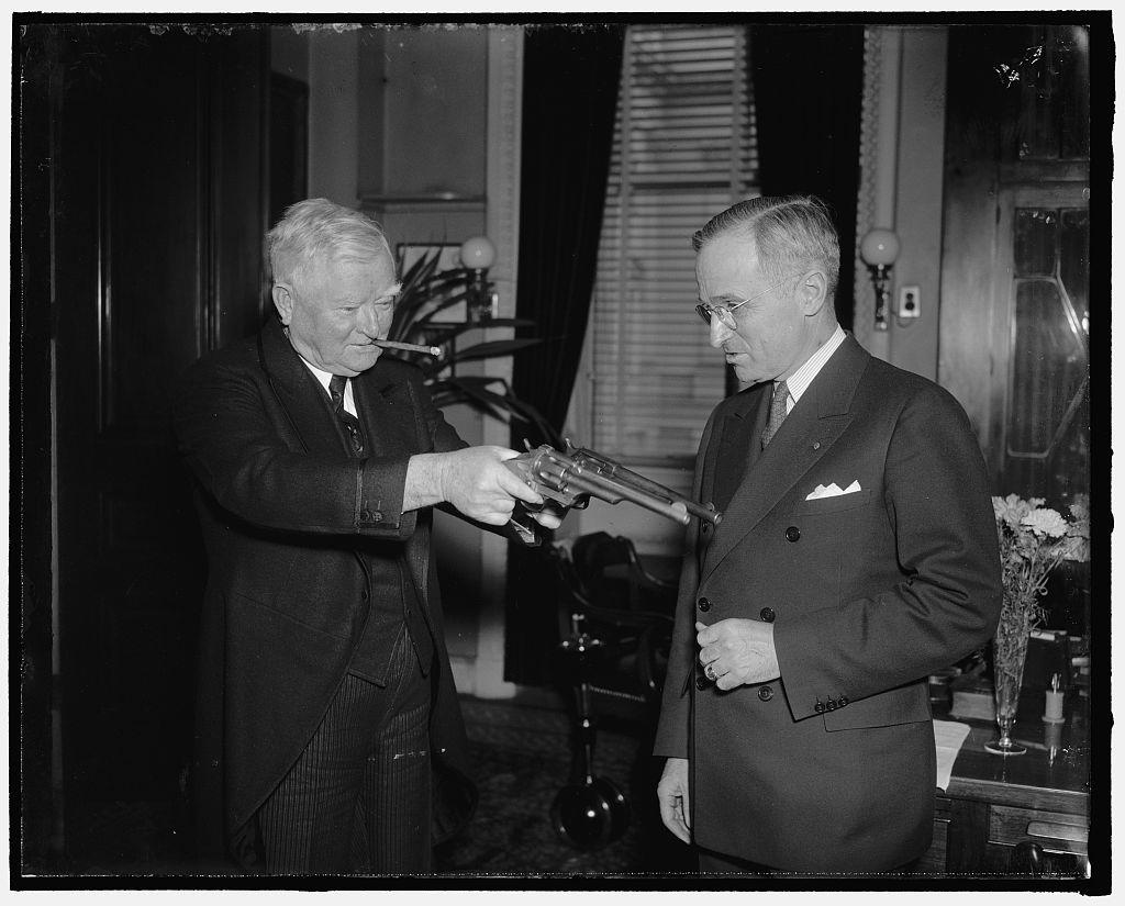 Senatorial stickup. Washington, D.C., Feb. 17, 1938