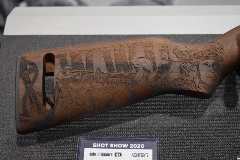 Thompson Auto-Ordnance Introduces Commemorative Iwo Jima Series (4)