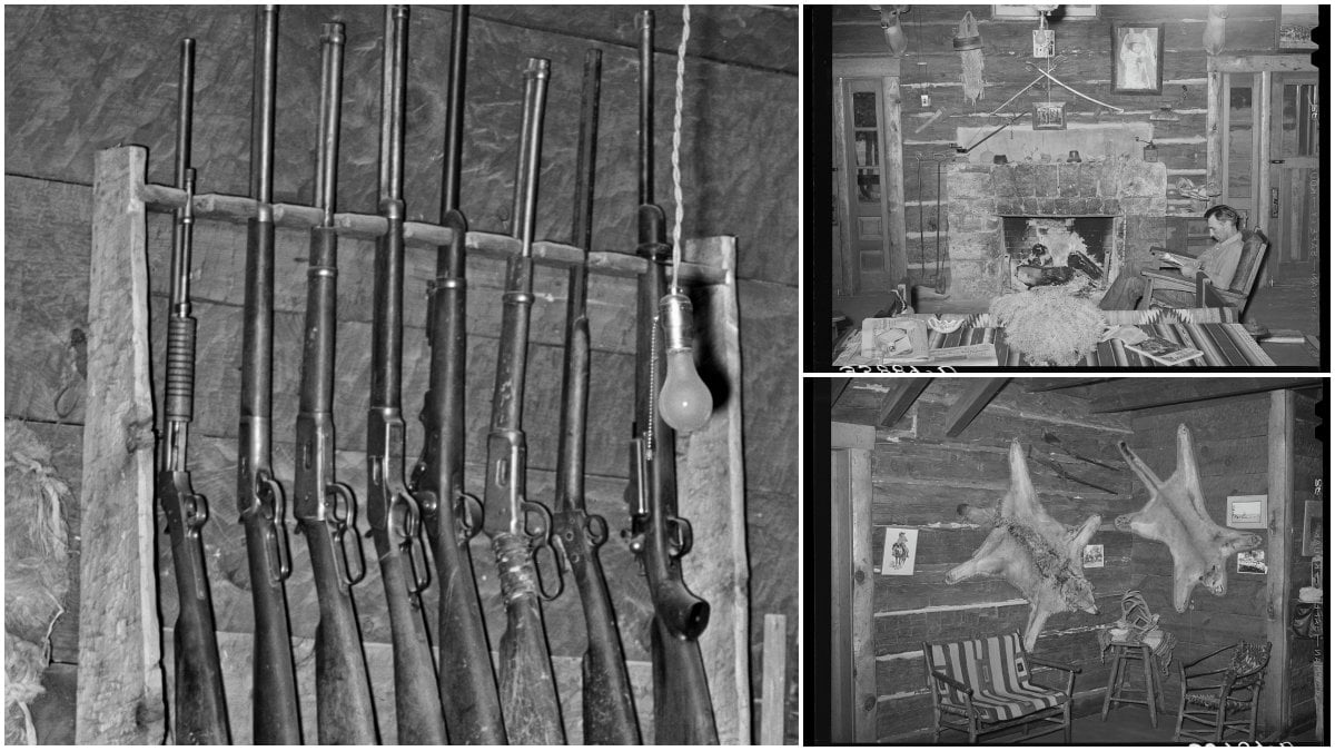 Throwback: The Gun Rack at the Navajo Lodge, 1940