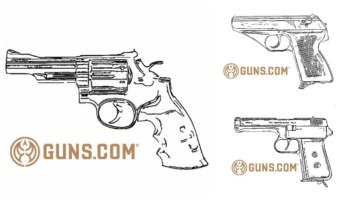 Beat COVID Cabin Fever with some Classic Gun Coloring Sheets